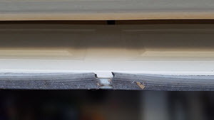 Garage door weather stripping and overall maintenance